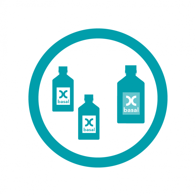 Customized liquid basal culture media