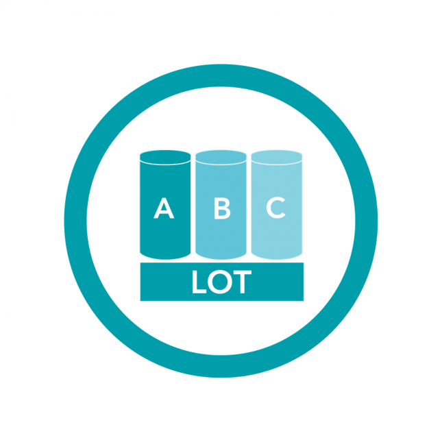 Lot-to-lot testing