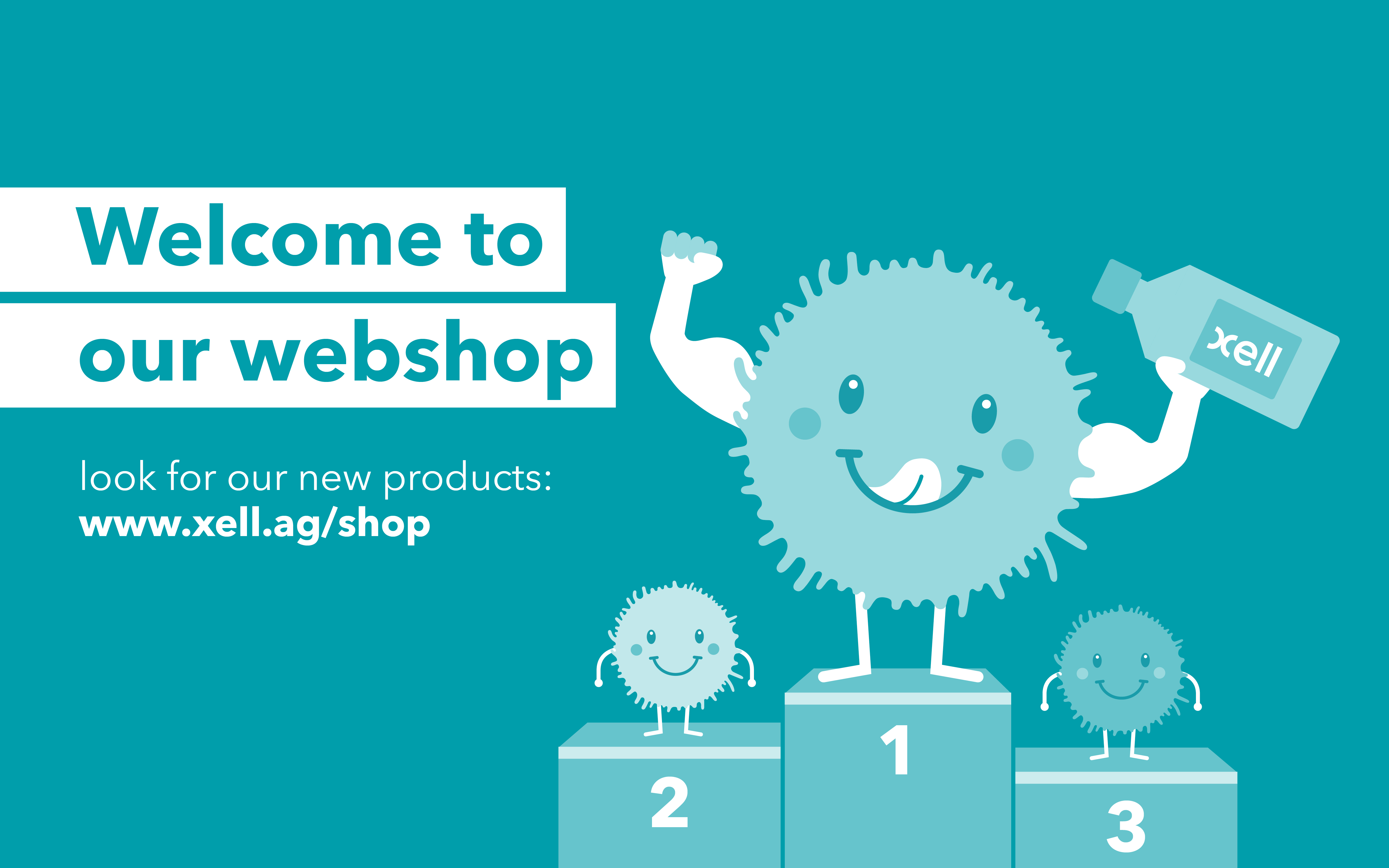 We Xell-ebrate the launch of our webshop